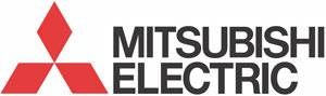 Logo Mitsubishi Electric.